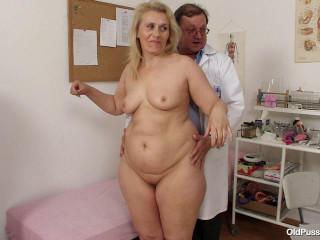 Yvonne - 55 years lady gyno examination