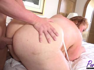 Brit ginger-haired Roobi gets an anal smashing