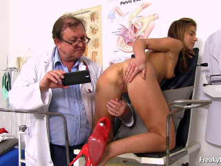 Paola Mike - 27 Years Girls Obgyn Check-up