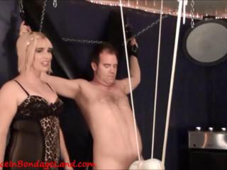 Machine - Ball Punching CBT Orgasm