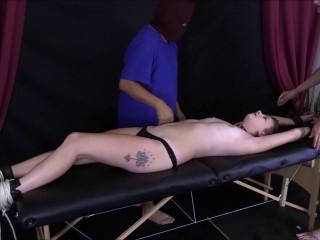 PureLaughterTicklingClips - A Ticklish trap part 4 Jackie tickle orgasm