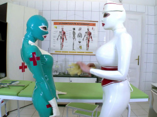 Latex Lucy And Clanddi Jinkcego - Clinic Of Sexual Satisfactions!