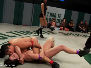 RD 2/4 of Feb's Live Tag Team Match: Sexual molestation on the mat! Non-scripted! Shot Live!