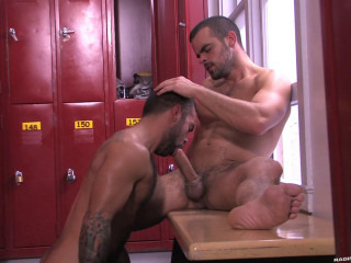 Raging Stallion - Hotter Than Hell Part 1 - Damien Crosse & Steve Cruz (1080p)