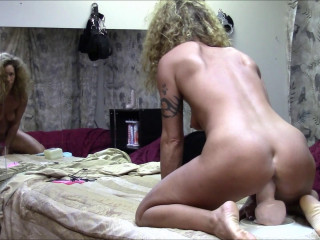 Dirty Wife Part two gaping pussy after being stretched around that monster (2017)