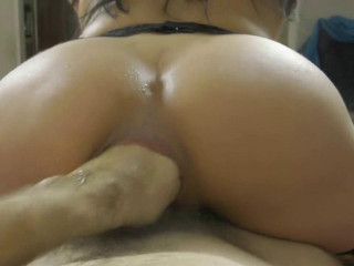 Wife With Little Rosebutt Gets Fisted And Rides On A Cock