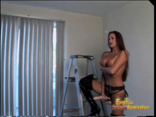 Behind The Scenes With A Domme Who Loves Pegging Men - HD 720p