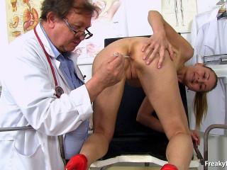 Uterine treatment with sex machine