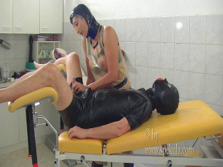 Slave milking in rubber