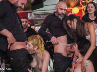 Spanish Bar turns into a Messy Screw Party! - Part 2