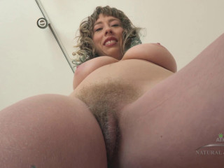 Unshaved Queen Vestacia Fucks Herself