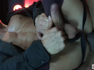 Hard Night Fuck With Muscle Males