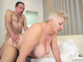 Hefty Granny Loving