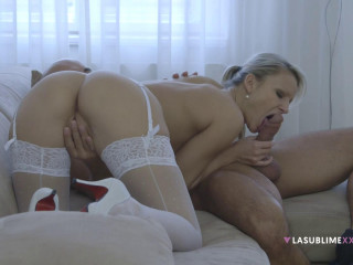 Samantha Jolie - Blonde Angel FullHD 1080p