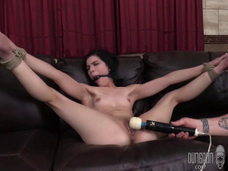 Sadie Blake - Another Princess Gets Punished - Black haired babe gets made orgasms
