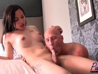 Christian hard-core sans a condom debut of exotic sweetie Luna Rose (2015)