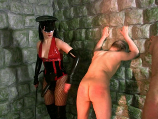 Mistress Rebekka's Butt Slut Brigade - Pegging Punishment Pt 2