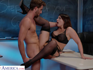 Ivy Lebelle Fucks Her A Student