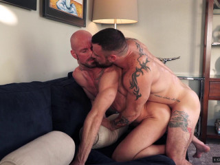 Sergeant Miles fucks Mitch Vaughn's asshole (1080p)