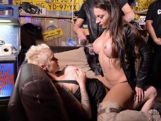 Julie Skyhigh gangbang No.4 the 2 bar sluts (2018)