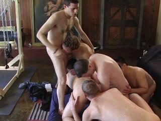 Raw Gangbang For Sexy Pornstars