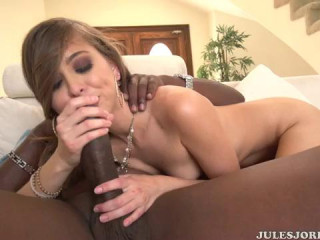 Riley Reid Gets Leaped In With A Group Of Black