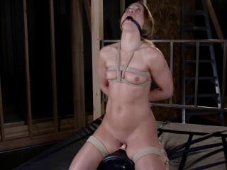 Fragile Slave Fit as Fuck Bondage Sybian Orgasms