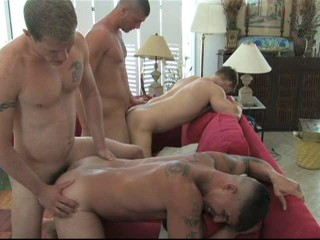Summer Orgies With Muscle Recruits