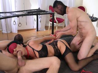 Ania Kinski - Submissive To DP HD