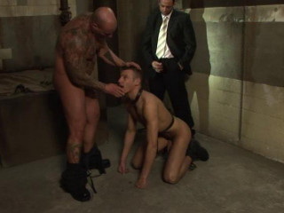 Hot guys in captive sex