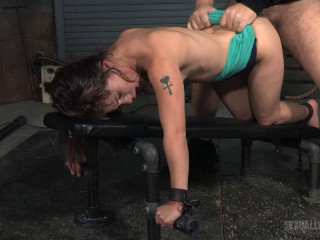 Messy little Devilynne trained on fuckboard by BBC