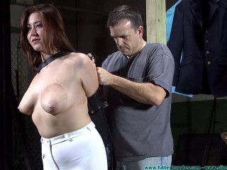 Riley Jane's Leather Pony Dame Fitting - Part 1 - HD 720p