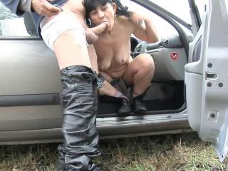 Real roadside whore castinged