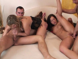 Bisexous Soiree Of 4 Part 7
