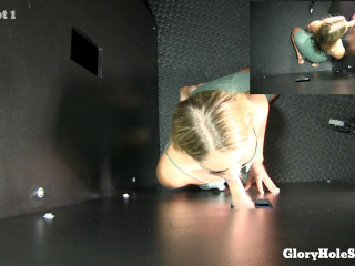 Candice - Candice's First Gloryhole Video