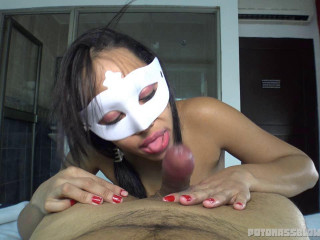 huge tit masked amateur slut blowing dick part 24