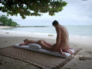 Erotic Beach Massage