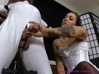 Slave Gets a Quick Release in Tight Bondage - Sasha Foxxx - Full HD 1080p
