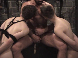 Restrain bondage Hook-up