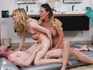 Cherie DeVille, Mackenzie Moss - Parlor Tricks Bold Milf, New Tricks
