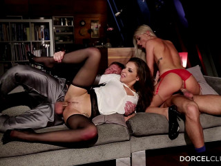 Anal DP And Deep Blowjobs By The 2 Hotties Chloe Lacourt Henessy