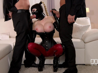 Latex Lucy - Mystery Masks - Latex Loving Threesome For Fetish Lovers FullHD 1080p