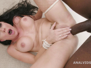 Dual Ass fucking Creampie, Texas Patty Vs. 2 Big black cock And Nads Deep Ass fucking - HD 720p