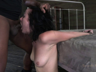 Pink cigar Fellating Vet In The Making Veruca James Plumbed Down And Facehole Drilled By 2 Big Dicks!
