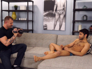 Shawn Abir makes his gay porn debut with the help of Austin Wolf