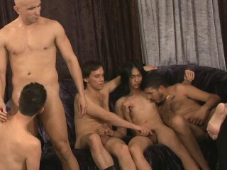 Creampie Ganbang Party With 100 Cumshots