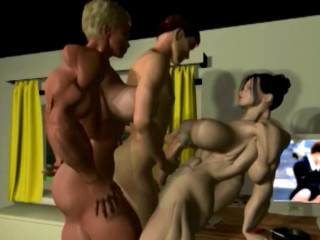 3D Shemuscle Futa Ladies