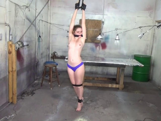 Misty Gorgeus Redhead Stretched and Roasted (2018)