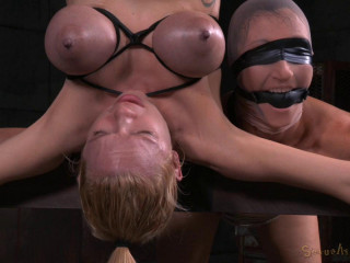Two For One As Wenona and Rain DeGrey Are Bound - HD 720p