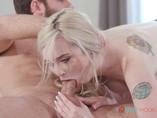 Lexi Lore - Cute blonde fucks her older boyfriend (2020)